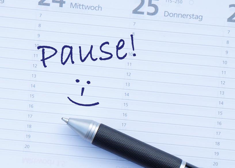 pause agenda